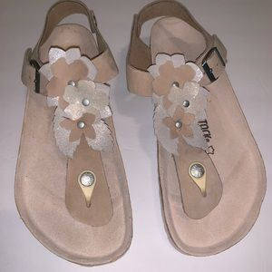 Birkenstock Kairo Lux Flowers thong sandals